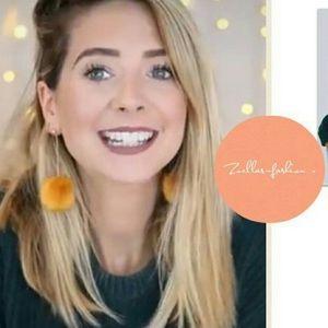 Zara | dangle faux fur earrings